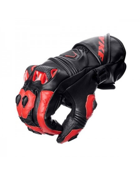 Guante racing para moto spyke tech race rojo