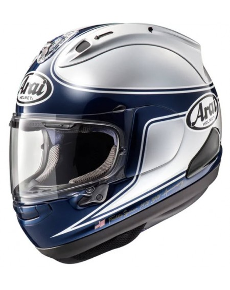 CASCO ARAI SPENCER PLATA, SILVER