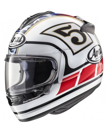 CASCO ARAI CHASER X EDWARDS LEGEND BLANCO