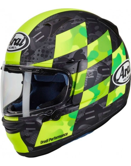 CASCO ARAI PROFILE V PATCH AMARILLO FLUOR