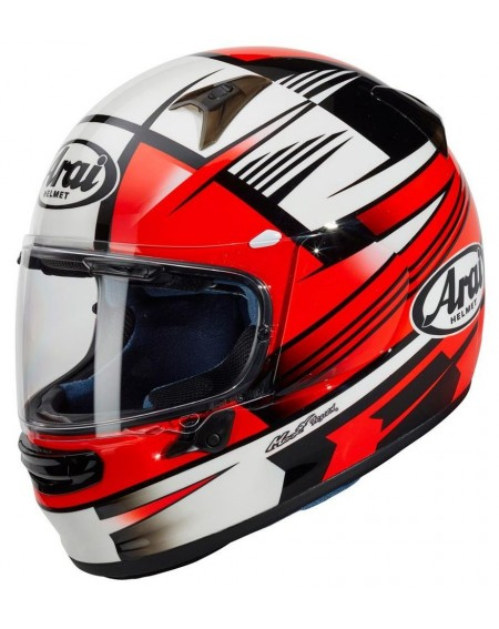 CASCO ARAI PROFILE-V ROCK ROJO EN MADRID