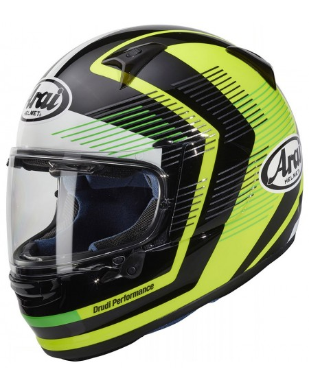 CASCO ARAI PROFILE-V IMPULSE AMARILLO FLUOR EN MADRID