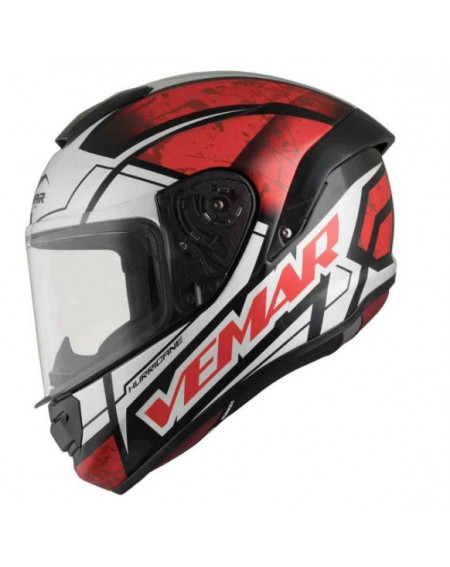CASCO VEMAR HURRICANE CLAW Rojo en oferta en Madrid, tu casco integral