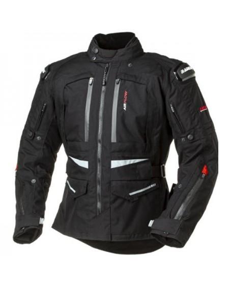 Chaqueta de moto para el invierno RAINERS ARROW Negro