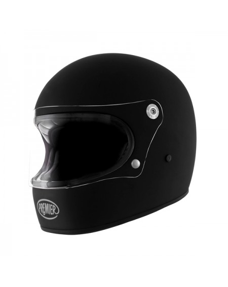 Casco premier trophy negro mate en madrid