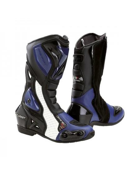Botas de moto prexport sonic evo azul