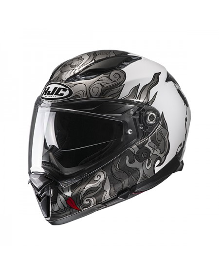 casco moto integral hjc cs 15 sebka azul