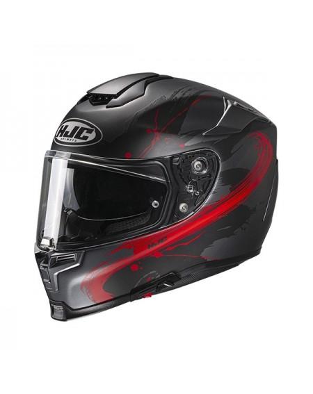 casco moto integral niños hjc cly simitic negro fluor