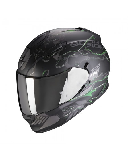 Casco integral scorpion  510 likid verde