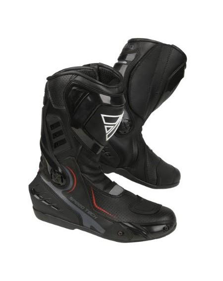 Bota deportiva speed tech modeka negro